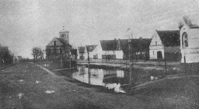 Foto. Siołkowickie Gbury przed I-wszą wojną światową.