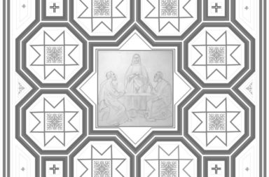 Strop-Prezbiterium