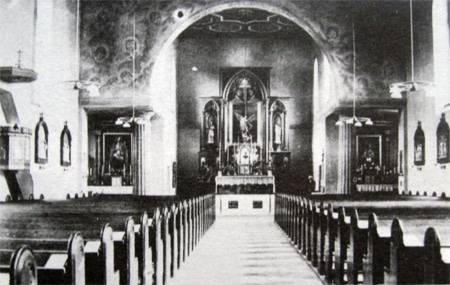 Historia kościoła w Starych Siołkowicach