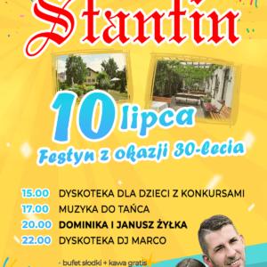 Festyn z okazji 30-lecia działalności restauracji Śtantin