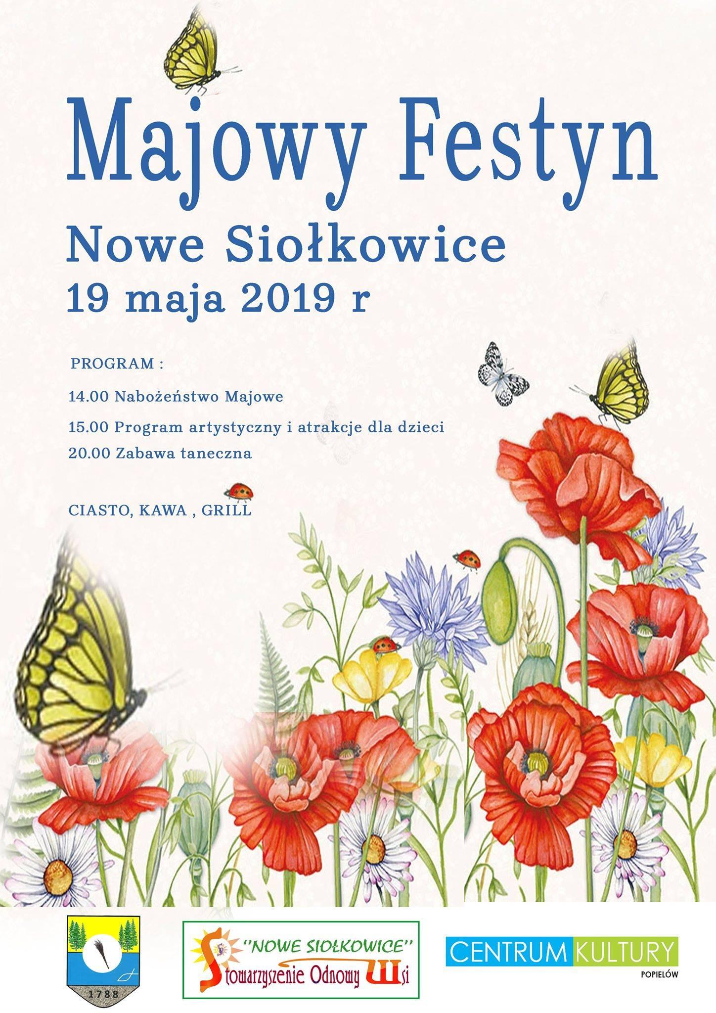 W niedzielę wielki Festyn Majowy w Nowych Siołkowicach!