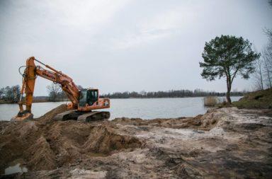 Ruszyła budowa kąpieliska w Nowych Siołkowicach - trwają prace nad plażą