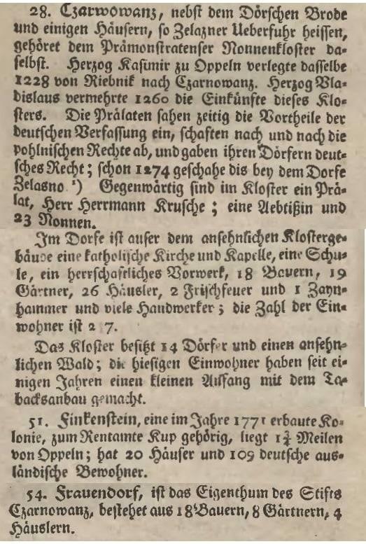 1783 Czarnowąsy - Wróblin