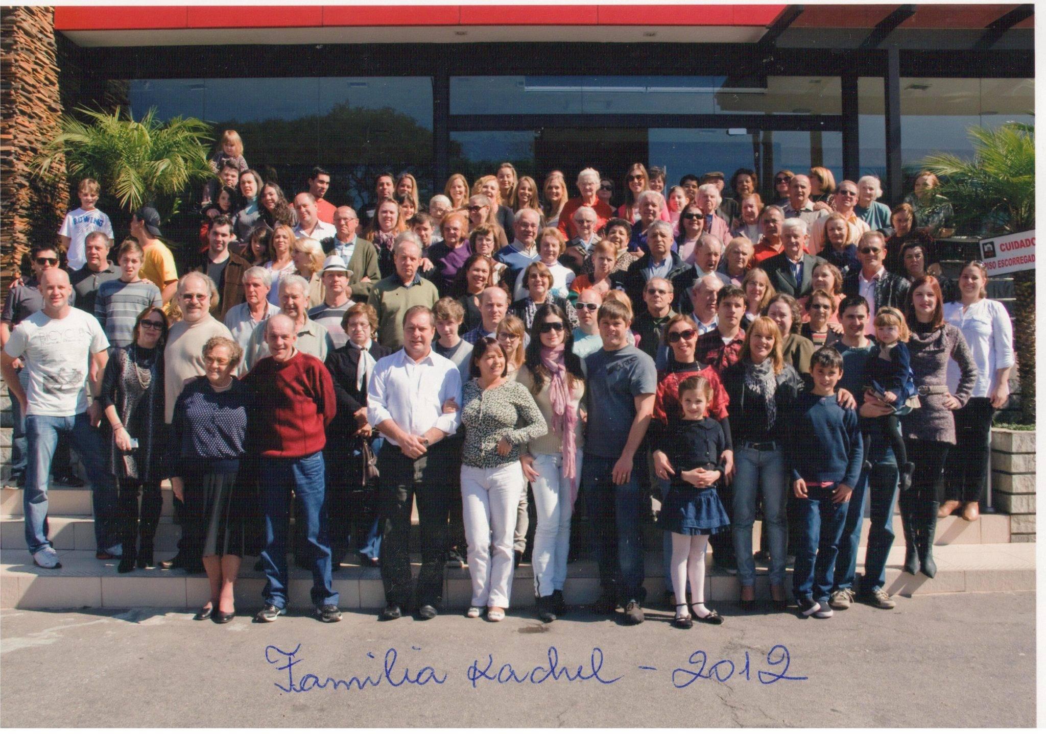 Familia Kachel 2012 - spotkanie rodzinne