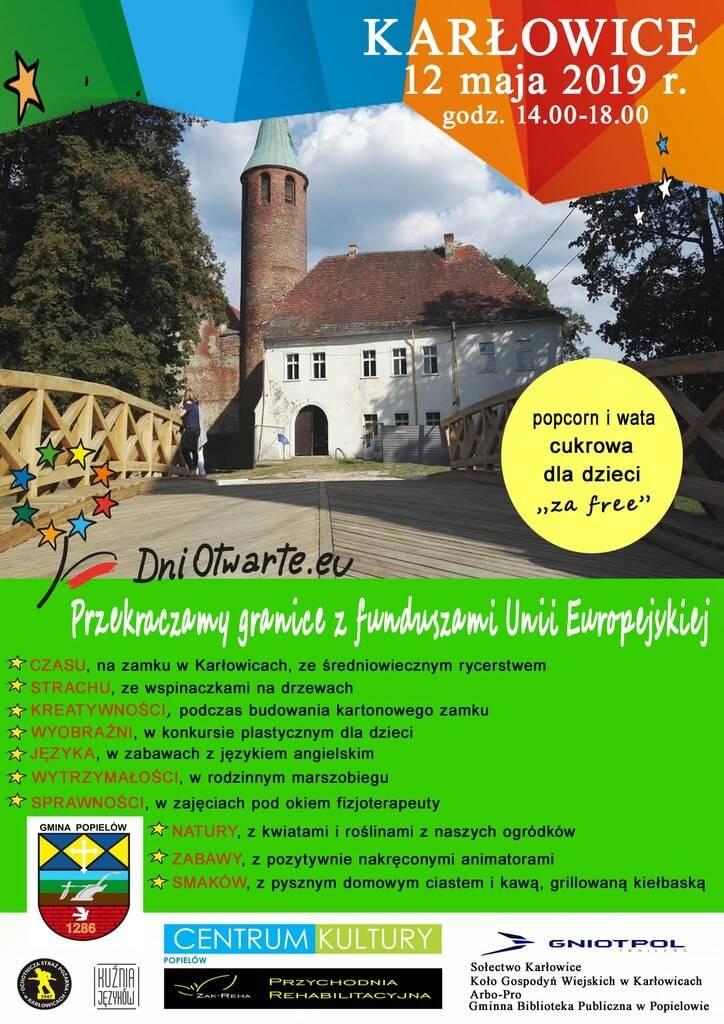 Zaproszenie na festyn do Karłowic