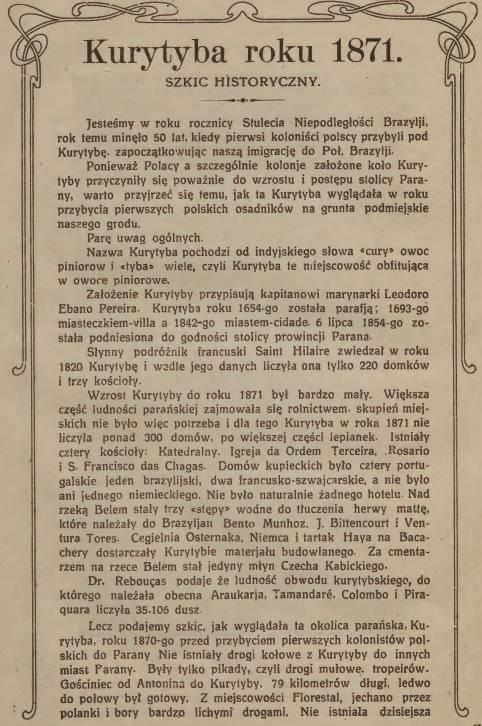 Kurytyba 1871- artykuł Wosia - Saporskiego (a)