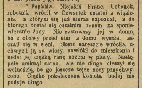 Nowiny Raciborskie,23 luty 1899 r.
