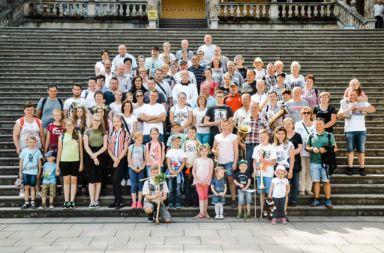 Liczna grupa pielgrzymów z naszej parafii udała się na pielgrzymkę do Barda Śląskiego i Wambierzyc