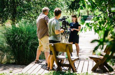 Ekipa filmowców odwiedziła Stare Siołkowice