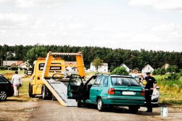 Kompletnie pijany kierowca Ukrainiec został zatrzymany przez ratowników