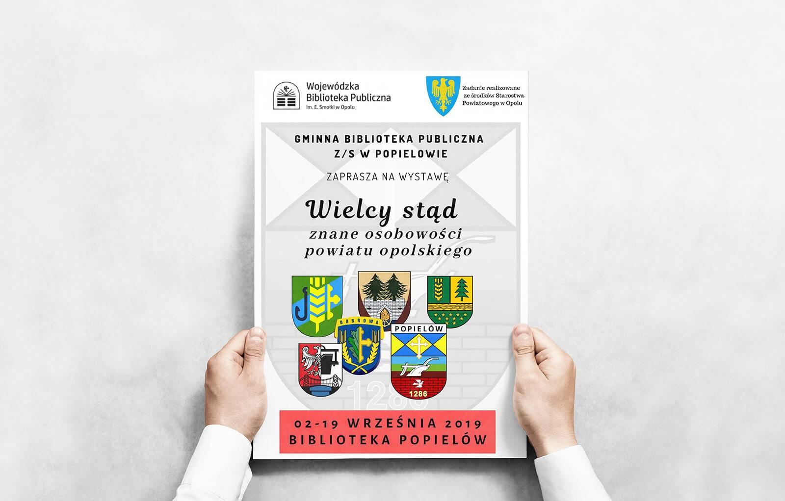 """Zapraszamy na wystawę: """"Wielcy stąd - znane osobowości z powiatu opolskiego"""""""