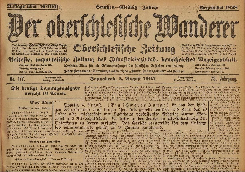 Der-Oberschlesische-Wanderer-sierpień-1905r.