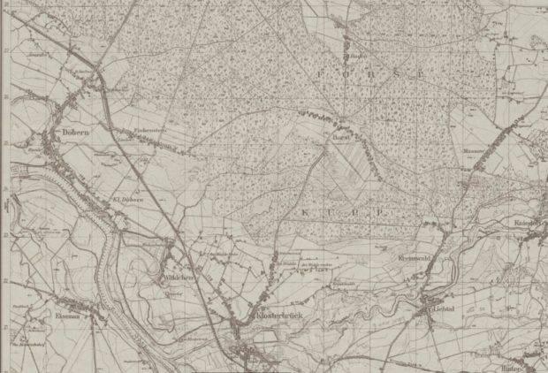 Dobrzeń-mapa-1937r