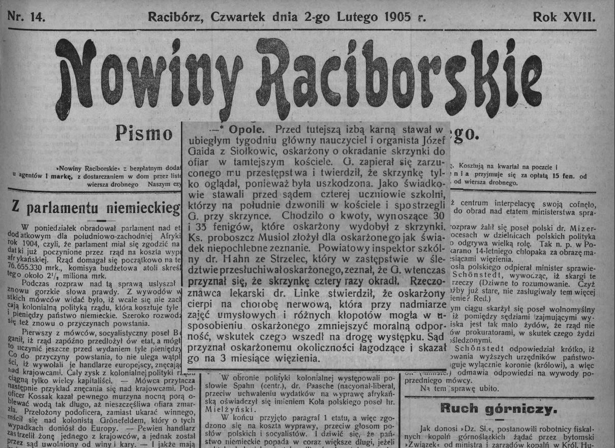 Nowiny-Raciborskie-luty-1905r.
