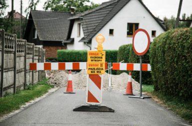 Stare Siołkowice trwa remont przepustu drogowego ul zapłocie