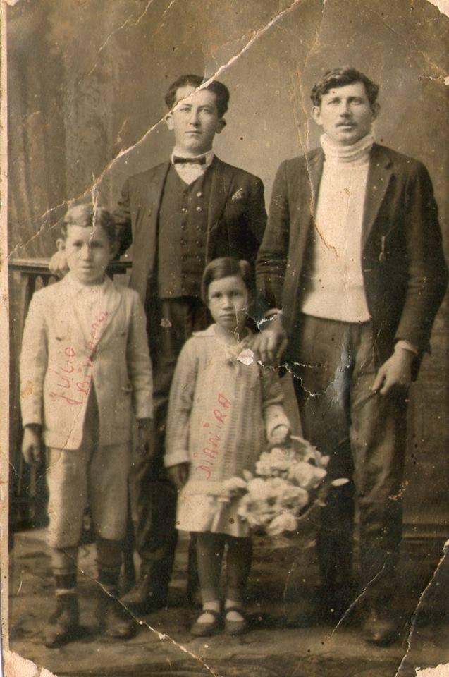 Familia-Bieniara-Binhara-II-Antigamente-em-Curitiba