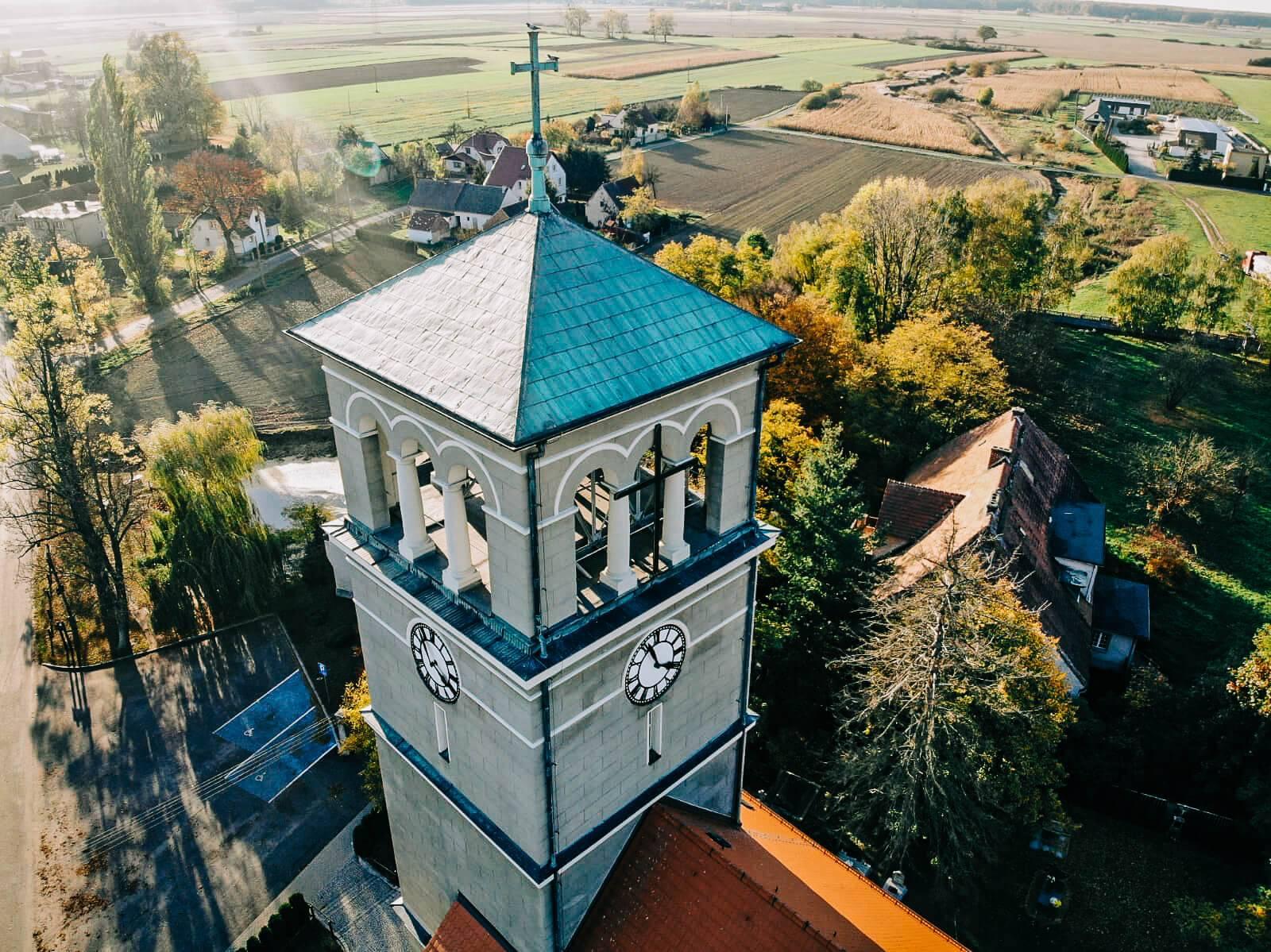 Zdjęcia z drona na Stare Siołkowice