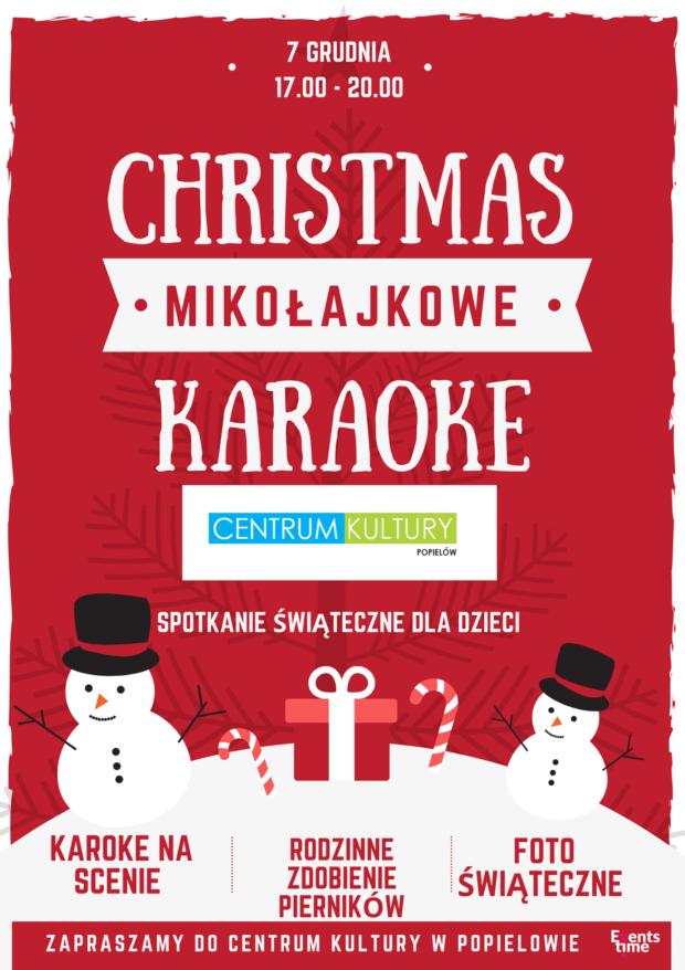 Mikołajkowe Karaoke w Centrum Kultury w Popielowie
