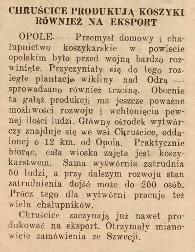 Nowiny Opolskie, 1947 r.