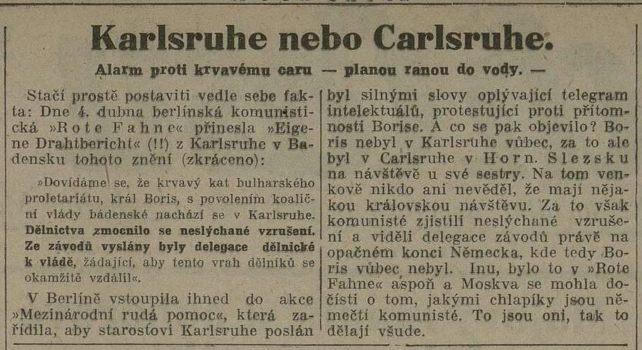 """Duch Casu"" 12 kwietnia 1929 r."