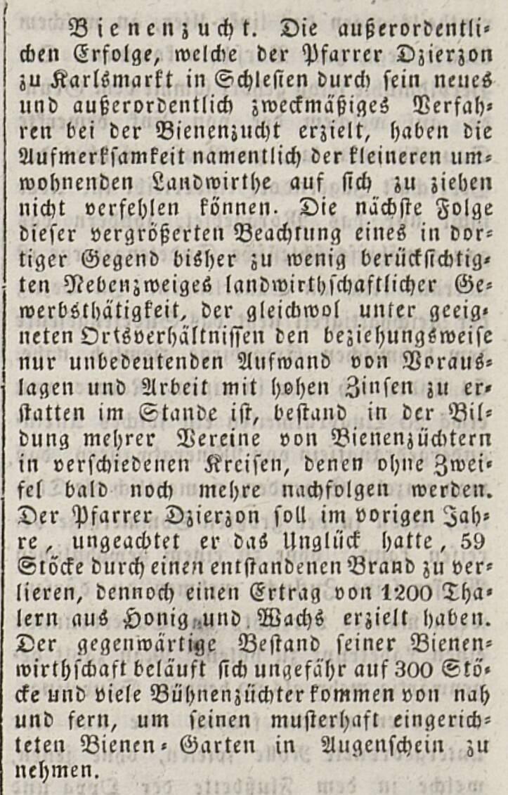 """Gazeta""""Moravia"""" - 1847 r."""