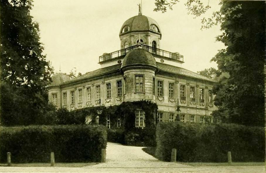Pałac (zamek) w Pokoju (bud. koniec XVIII w.)