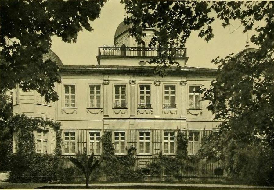 Pałac (zamek) w Pokoju z bliska (bud. koniec XVIII w.)