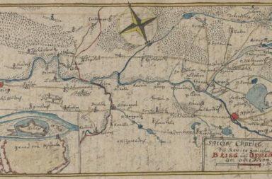 Mapy, plany, plany sytuacyjne Mapy i plany Friedricha Bernharda Wernera, 1750 - 1775 r.