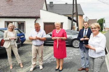 Uroczyste otwarcia drogi powiatowej Klapacz