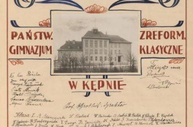 Przykładowa strona z podpisami