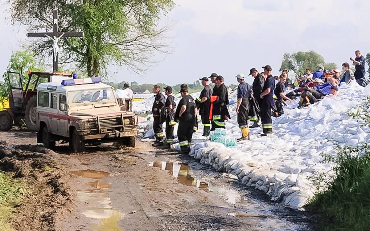 Powódź 2010 walka o wały! Dziś mija jej 10 rocznica