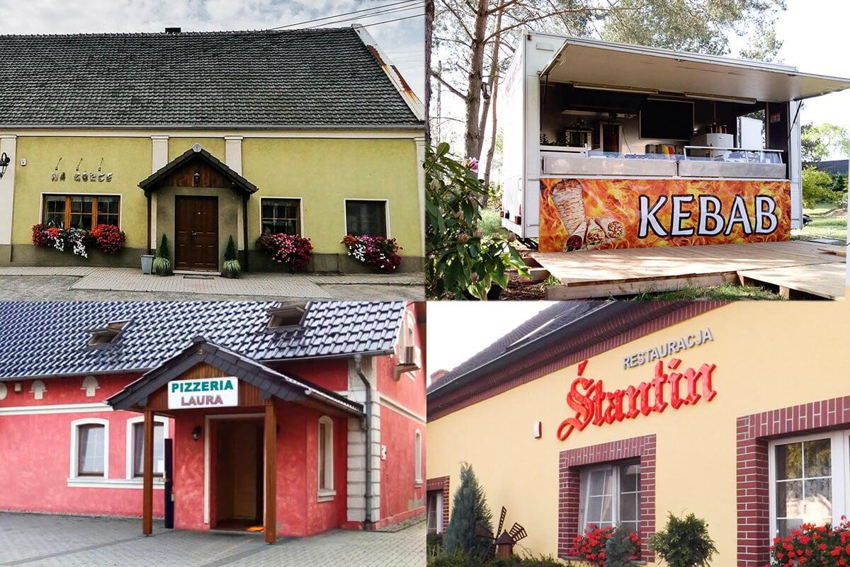 sWsparcie dla naszych lokalnych przedsiębiorców gastronomicznych - Stare Siołkowice, Śtatrin, Na Górce, Pizzeria Laura, Kebab Siołkowice