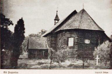 Stary kościół pw. Najświętszej Marii Panny w Popielowie