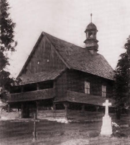 Kościół św. Rocha, lata 20 - 30 XX wieku.