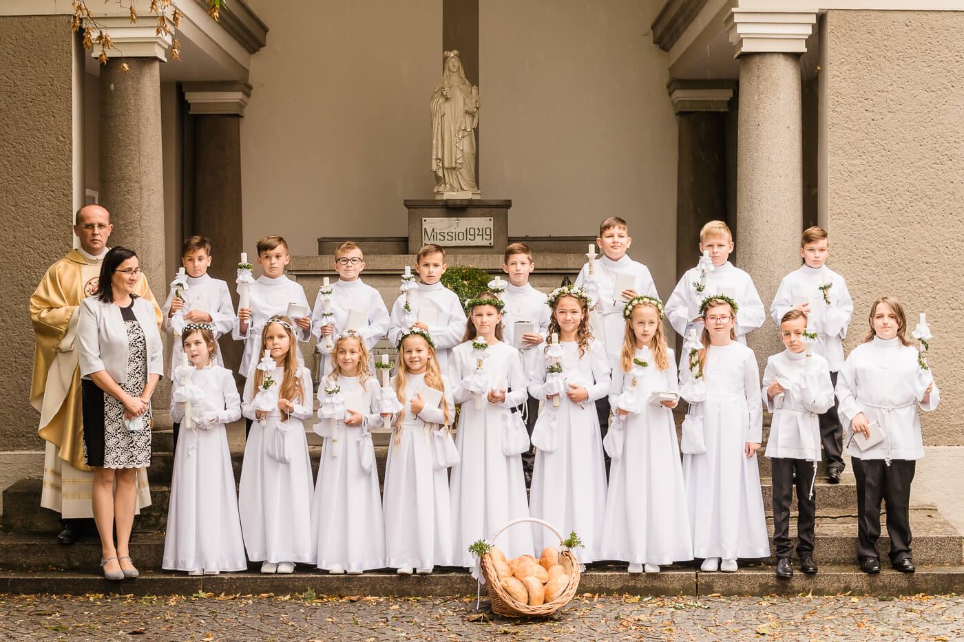 Uroczystość I Komunii Świętej w Starych Siołkowicach
