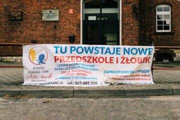 Ruszyła przebudowa budynku szkoły na żłobek oraz przedszkole w Starych Siołkowicach