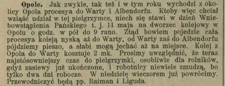 Posłaniec Niedzielny dla Dyecezyi Wrocławskiej. 07-05-1899