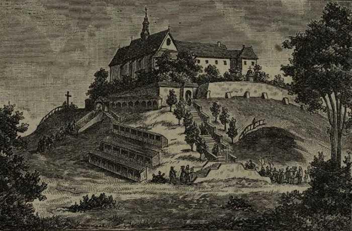 Sanktuarium na Górze św. Anny. Ryc.- 1904 r.