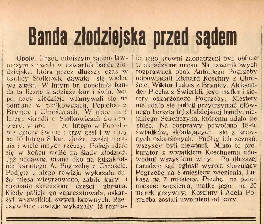 NOWINY CODZIENNE - 1933 r.
