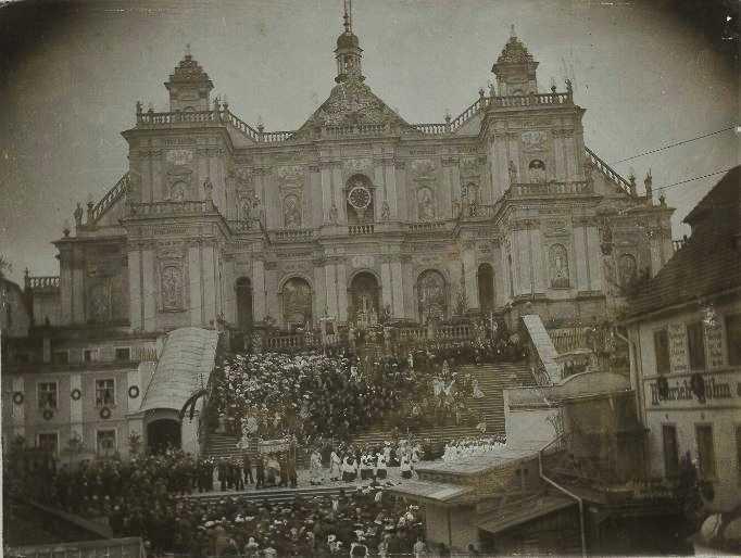 Procesja w Wambierzycach w 1906 r.w