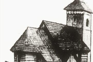 Drewniany kośc. w Chróścicach
