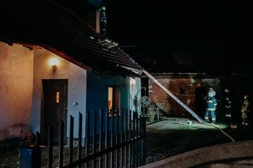 Pożar przewodu kominowego – Nowe Siołkowice
