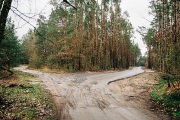 Nowa asfalta droga połączyła Gminę Popielów z Gminą Dobrzeń Wielki