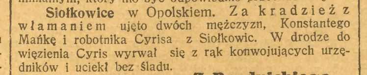 KATOLIK CODZIENNY - 1923 r.