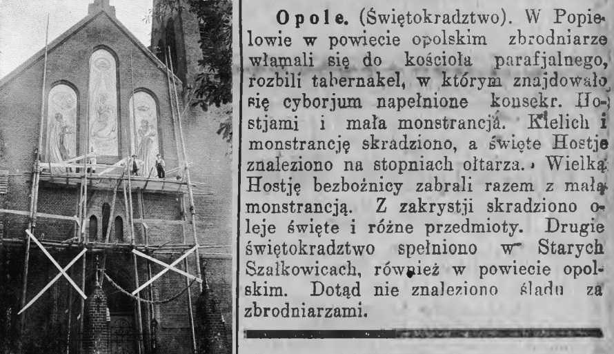 GONIEC ŚLĄSKI - 1923 r.
