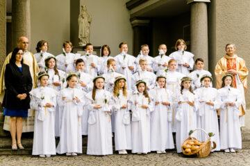 Uroczystość I Komunii Świętej w Starych Siołkowicach 2021