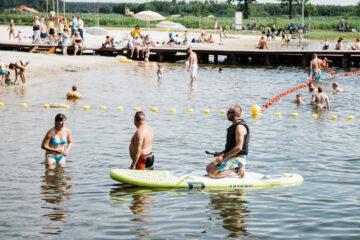 Ruszyły nowy sezon na kąpielisku w Nowych Siołkowicach